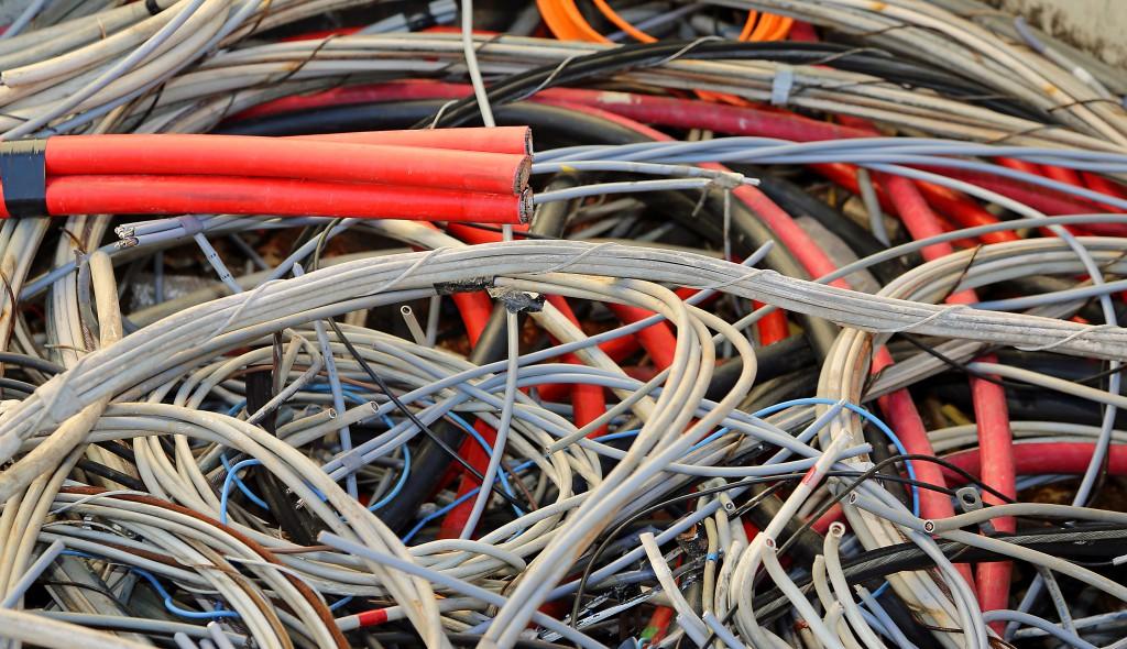 Câblage électrique et fibre